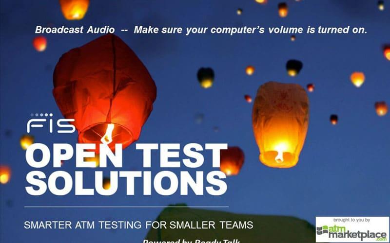Smarter ATM Testing